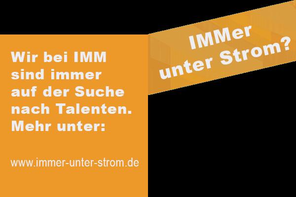 IMMer unter Strom?